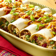 Beefy Broccoli & Cheddar Burritos