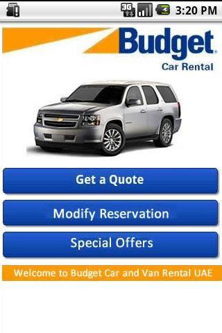 【免費旅遊App】Budget Rent a Car UAE-APP點子
