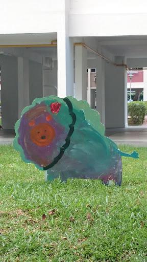 The Green Lion Artwork