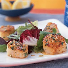 Lemon-Shallot Scallops