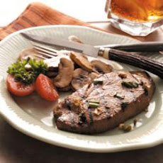 Marinated Sirloin Steaks