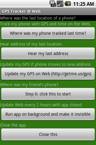 GPS Tracker Web