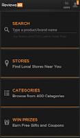 Screenshot of Reviews42 Price Comparison App