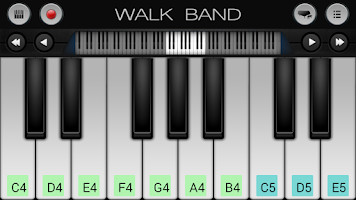 Screenshot of Walk Band