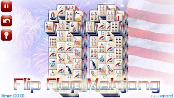 Screenshot of 4th of July Mahjong