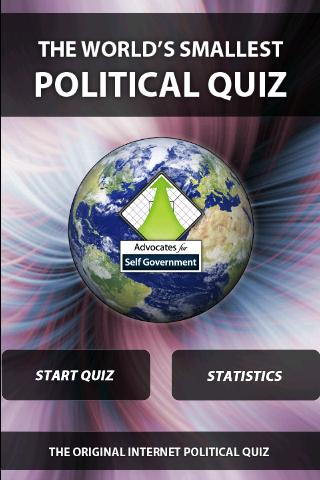 Worlds Smallest Political Quiz
