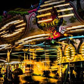 Grampa,,,,,make it stop!!!!! by Cary Dan - City,  Street & Park  Amusement Parks