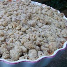 Quick And Easy Gooseberry Crumble