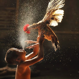 Shower Time.. by Dimas Pamungkas - Babies & Children Children Candids