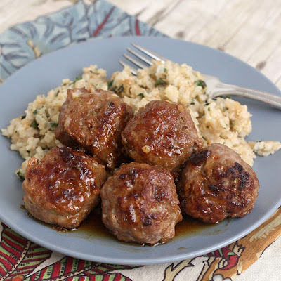 Honey Chipotle Turkey Meatballs