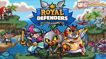 Screenshot of Royal Defenders