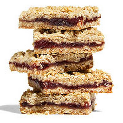 Cranberry-Nut Streusel Bars