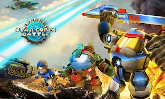 Screenshot of Clash of Star Corps