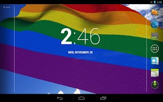 Screenshot of Gay Pride Live Wallpaper Free