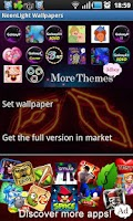 Screenshot of NeonLight Go Launcher Ex Theme