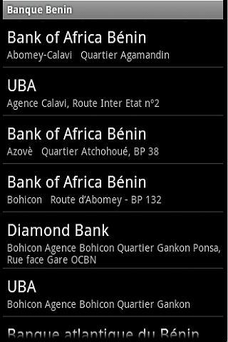 Banque Bénin