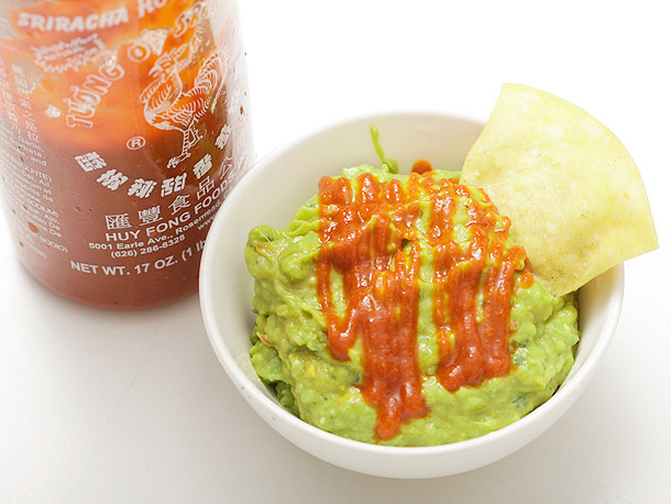 Guacamole with Sriracha Recipe | Yummly