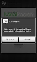 Screenshot of Kanalradion