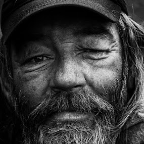 Down On His Luck in Denver by Sam Alexander - People Street & Candids ( broken, du class, photography class,  )