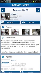 AGENCE IMREP - screenshot