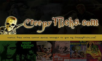 Screenshot of CreepyFlicks Horror Movies