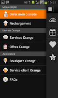 Screenshot of Orange et moi Congo