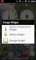 Screenshot of Gauge Vintage Widgets