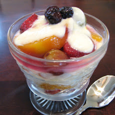 Orange Cream Fruit Salad