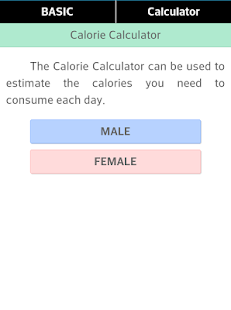 Calorie Counting & Calculator - screenshot