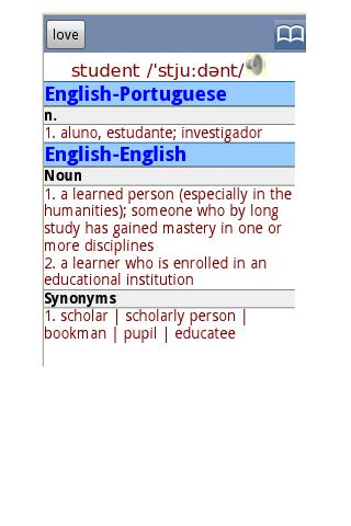 免費下載書籍APP|English Portuguese Dictionary app開箱文|APP開箱王