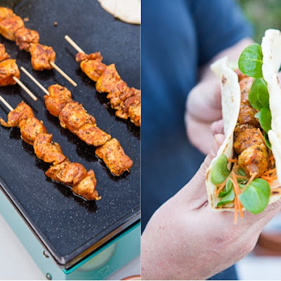 Chicken Skewers with a Mexican-Inspired Dry Rub