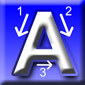 Trace Alphabet Numbers & Words icon