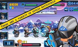Screenshot of star wars:superhero return