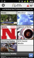 Screenshot of NTV News Mobile App