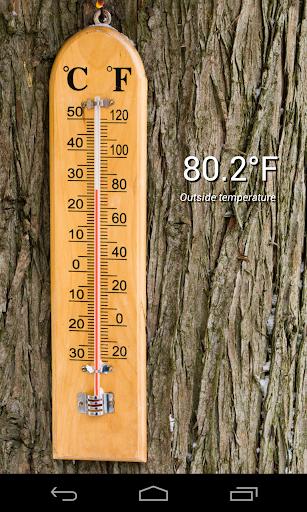 Thermometer (+StatusBar +Wear) - screenshot