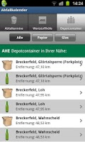 Screenshot of AHE App