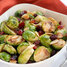 Cranberry Almond Brussel Sprouts