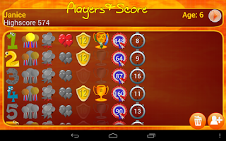 Screenshot of Times Tables Game