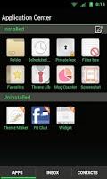 Screenshot of GO SMS THEME -Smooth ICS Green