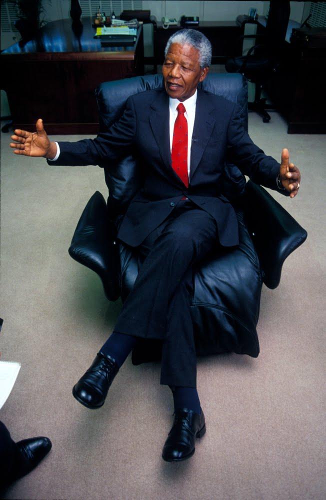 Nelson Mandela: 1994 - 1999