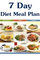 Screenshot of 7 Day Diet Meal Plan