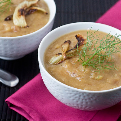 Roasted Potato & Fennel Soup