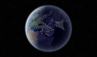 Screenshot of Earth 3D HD LWP Trial