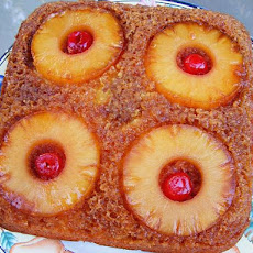 Pineapple Upside Down Cake - Easy Way