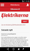 Screenshot of Elektrikerna