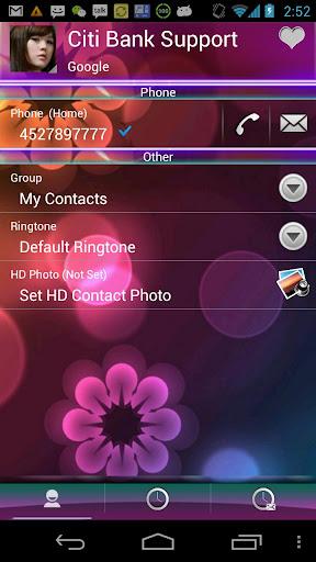 【免費通訊App】RocketDial Holo Theme-APP點子