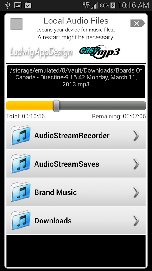 Internet Radio Recorder Pro Screenshot 4