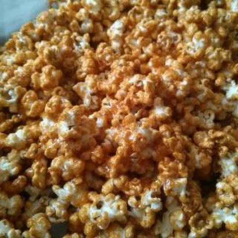 Allergy-friendly Sriracha Caramel Corn