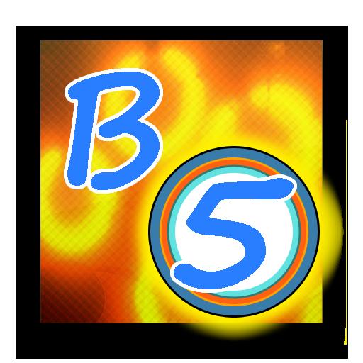 bubble5  - 瘋狂的在一排5 LOGO-APP點子