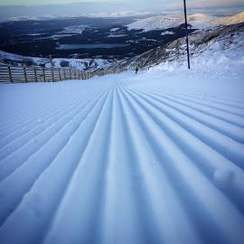 crisp white lines by Maggie Adamson - Landscapes Mountains & Hills (  )